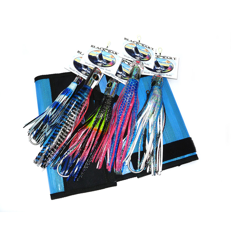 Black Bart Billfish Lure Pack