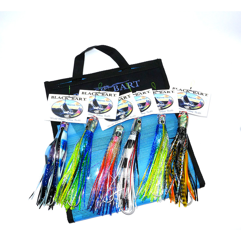 Black Bart Tuna / Dolphin Lure Pack
