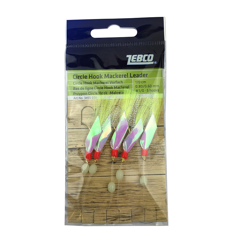 Zebco Circle Hook Mackerel Feathers