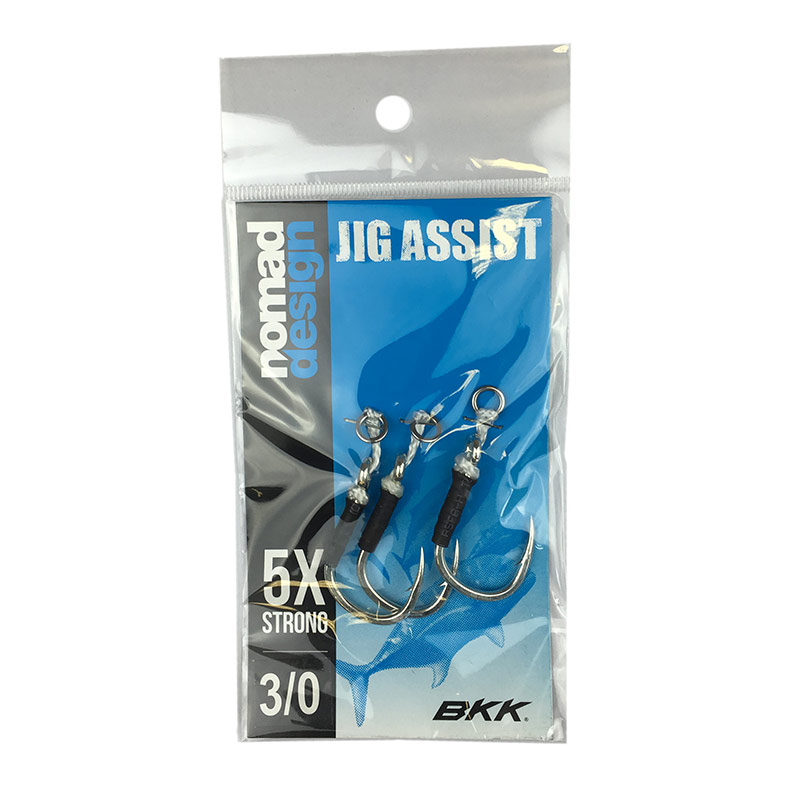 Nomad Jig Assist 5X Strong Hooks