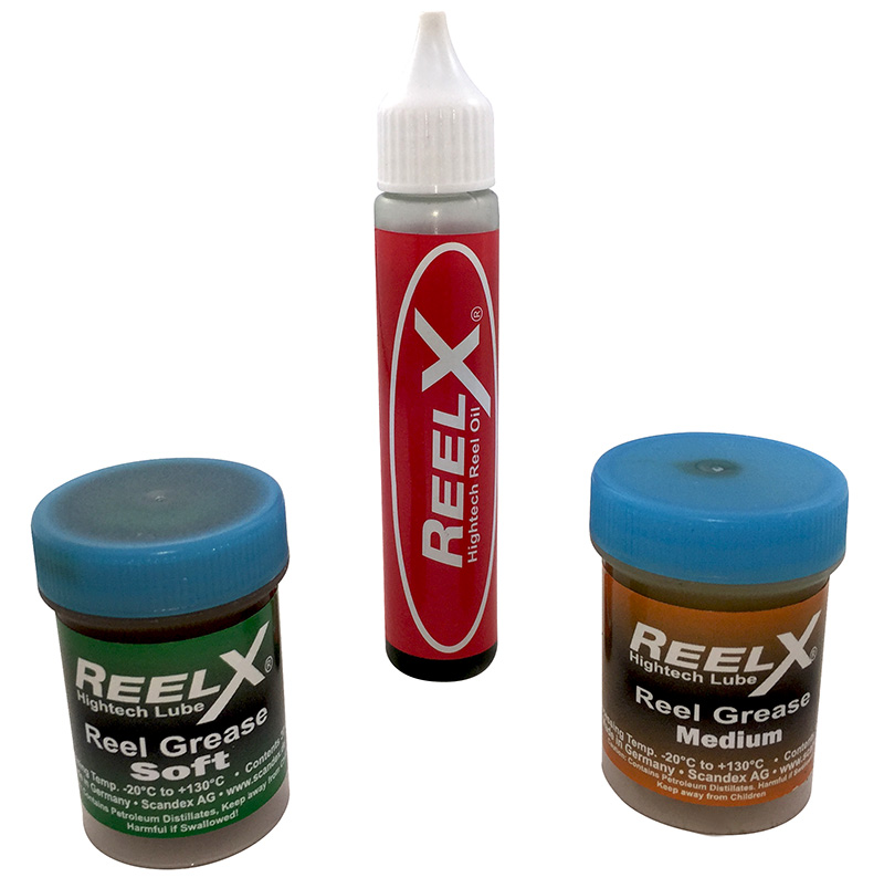 ReelX High Tech Saltwater Reel Lubricants