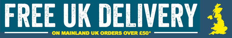 Free Mainland UK Delivery on all orders over £50