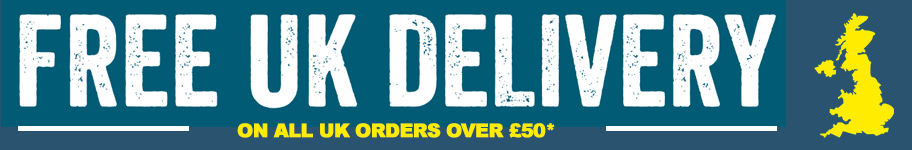 Free UK* Delivery on all orders over £50