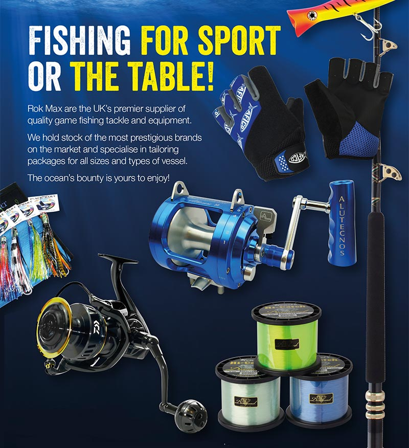 Super Yacht Fishing Tackle, Equipment and Gear by Rok Max