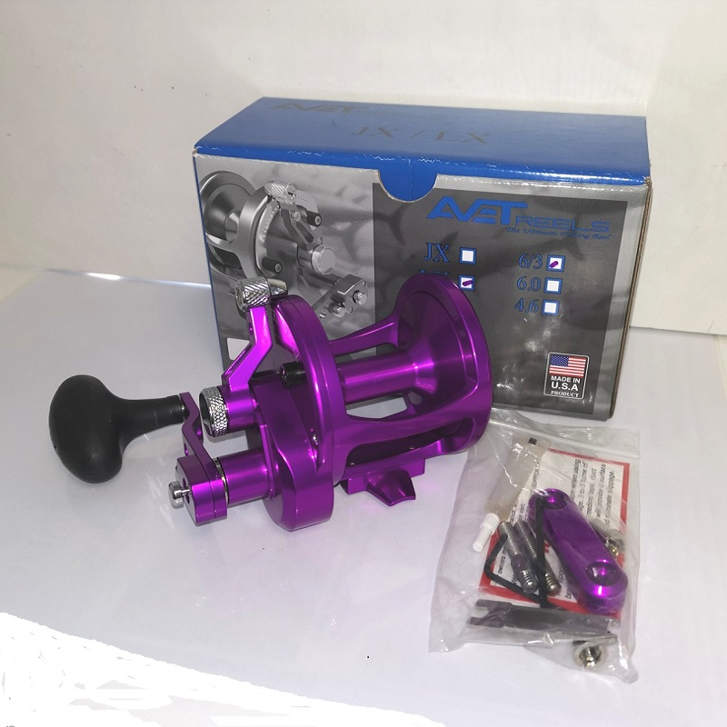 Second Hand Avet LX 6/3 2-Speed Purple