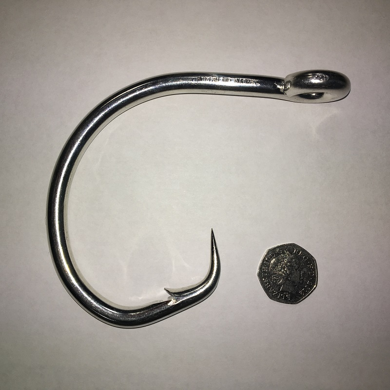 Mustad 39937NP-DT Ultrapoint Giant Demon Perfect Circle Hook