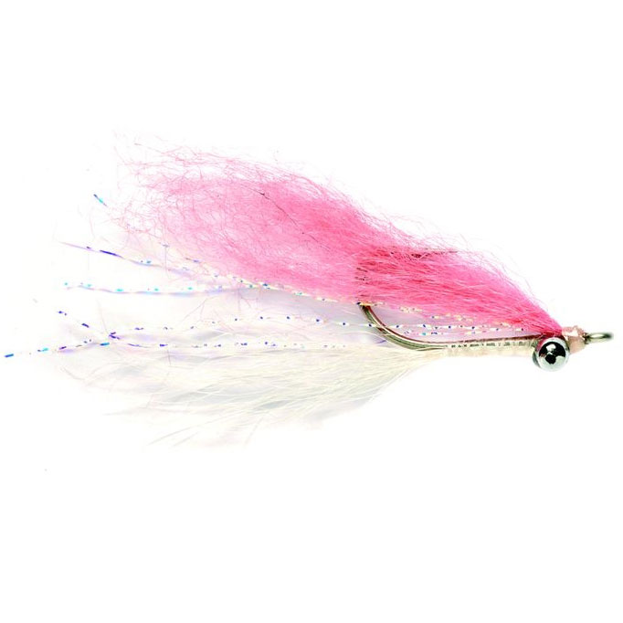 Fulling Mill Clouser Bone Pink Fly
