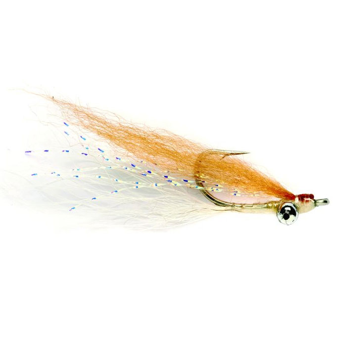 Fulling Mill Clouser Bone Tan Fly