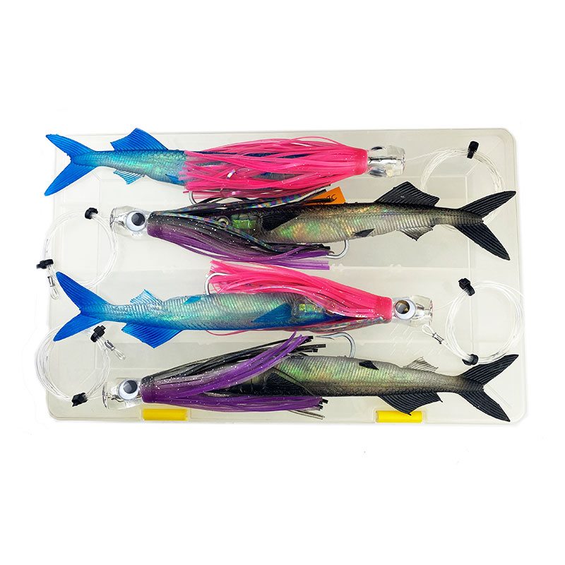 Second Hand Williamson Live Ballyhoo Combo Lures JB29