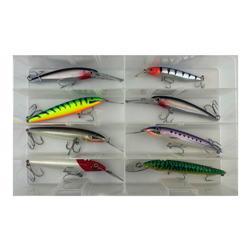 Set of Diving Lures in Box JB36