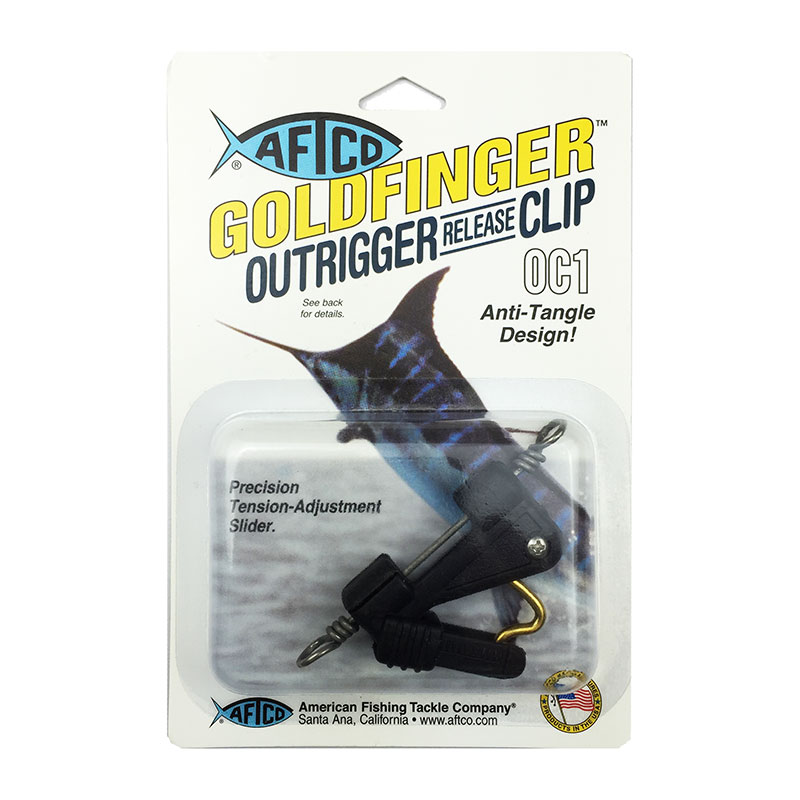 AFTCO Goldfinger Outrigger Release Clip