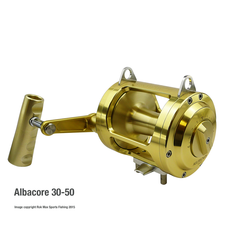 Alutecnos albacore one speed big game reels rok max for Big game fishing reels