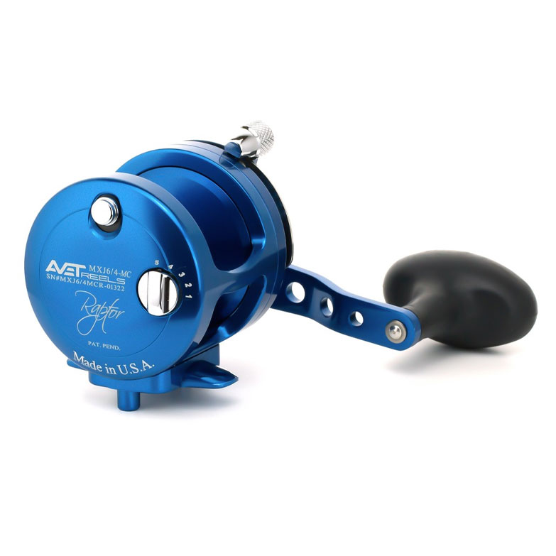 Avet MXJ 6/4 Raptor Two-Speed Magic Cast Reel
