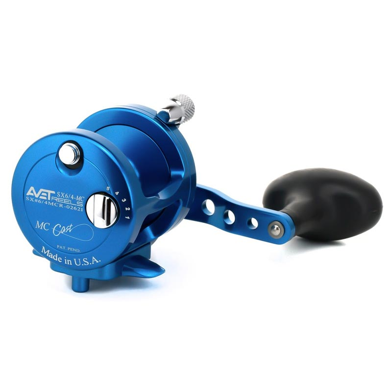 Avet G2 SX 6/4 Two Speed Magic Cast Fishing Reel - No Glide Plate