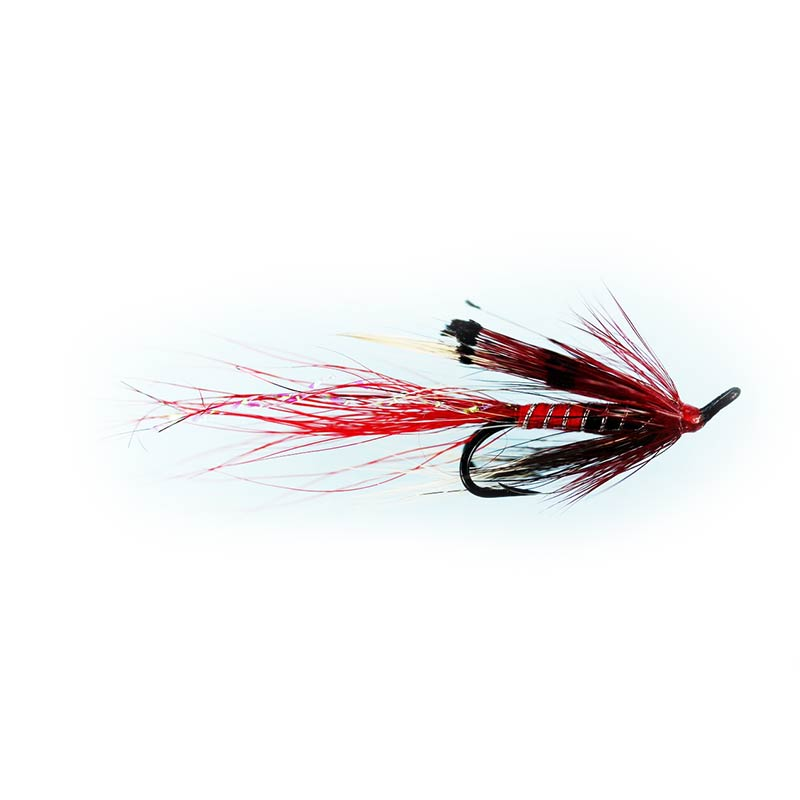 Caledonia Ally's Shrimp Red Double Fly