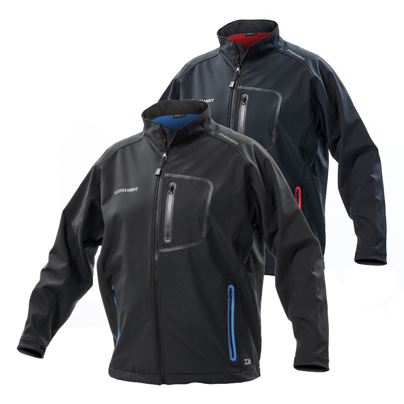 Daiwa Tournament Soft Shell Fishing Jacket