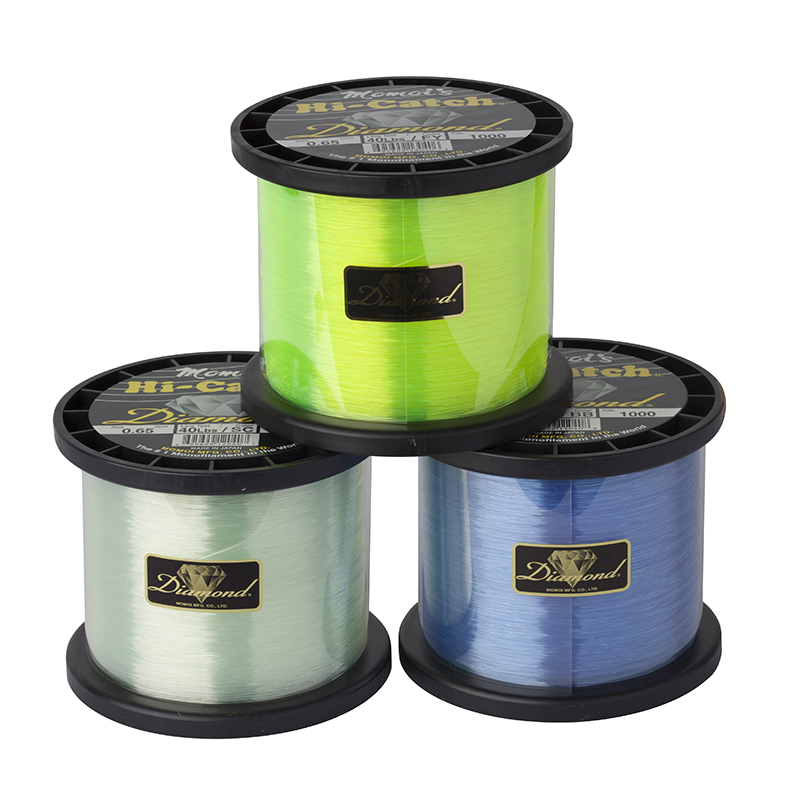 Momoi Hi-Catch Diamond Nylon Mono Fishing Line