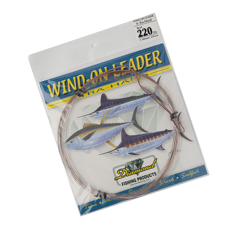Momoi Hi-Catch Xtra Hard Wind-On Leader