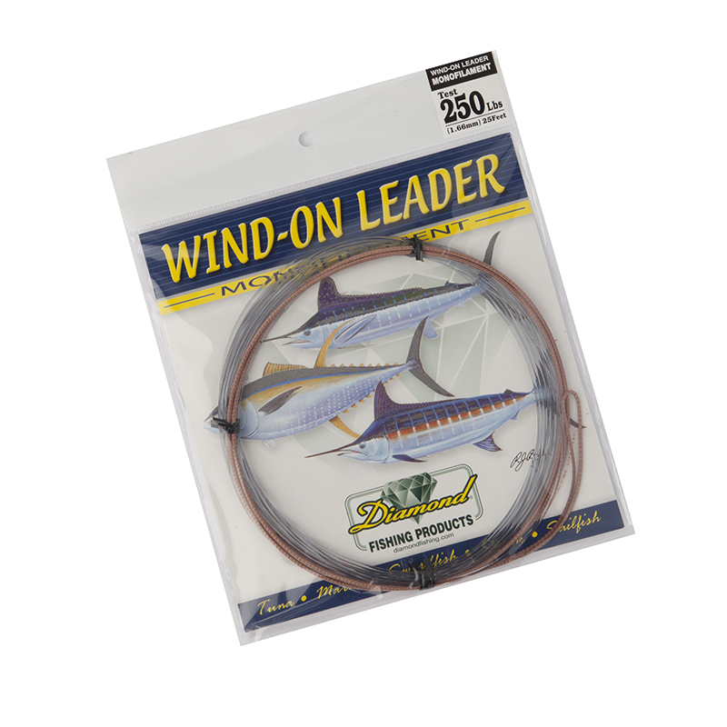 Momoi Hi-Catch Monofilament Wind-On Leader