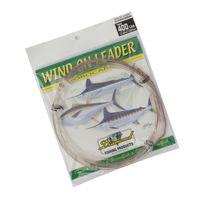 Momoi Hi-Catch Fluorocarbon Wind On Leader