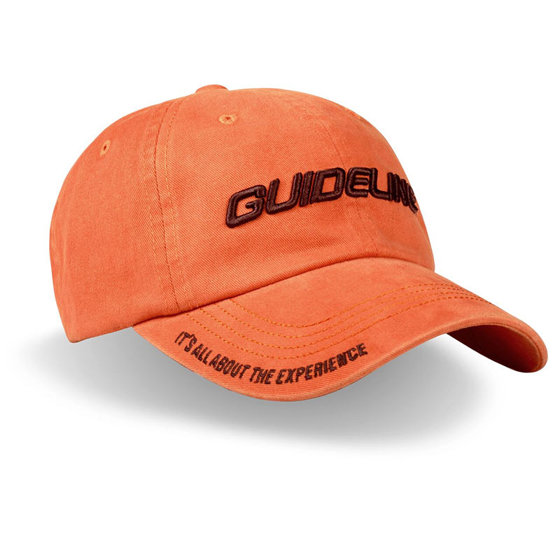 Guideline Fishing Cap Pumpkin