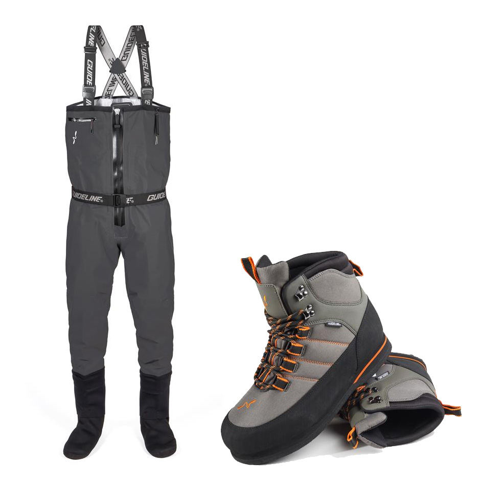 Guideline Experience Sonic Tizip Waders & Free Laxa Boots