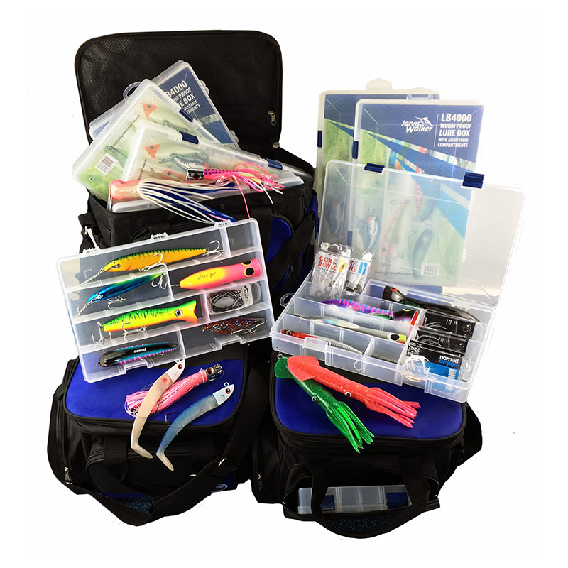 Jarvis Walker Lure Bags With Boxes