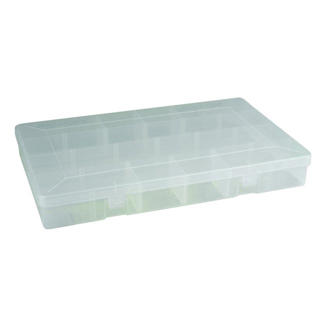 Leeda 4-24 Compartment Tackle Box