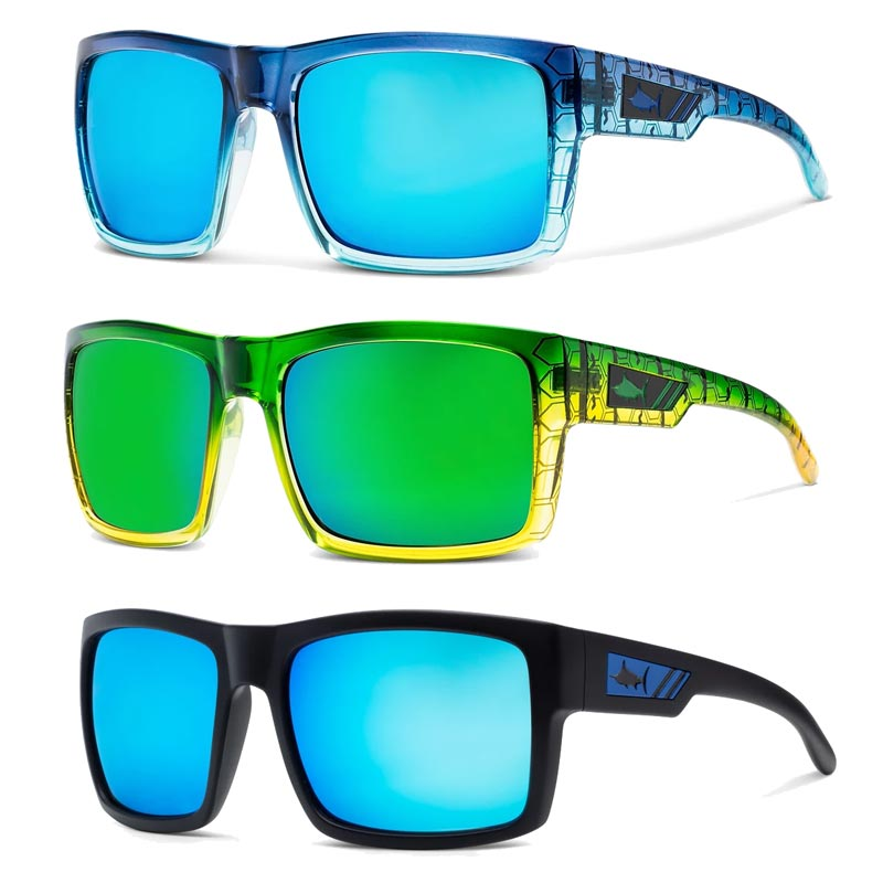 Pelagic Shark Bite Polarised Sunglasses Rok Max