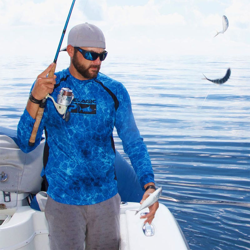 Pelagic Vaportek Performance Fishing Shirt
