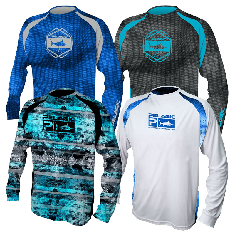 Pelagic VaporTek Long Sleeve Sunshirt