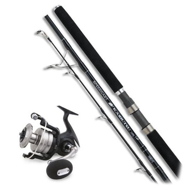 Shimano Speedcast Popping Rod / Spheros Reel Combo