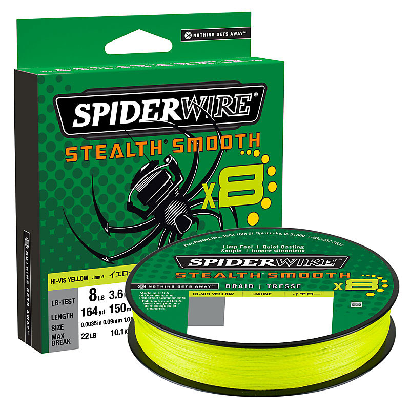 SpiderWire Stealth Smooth8 Braided Line
